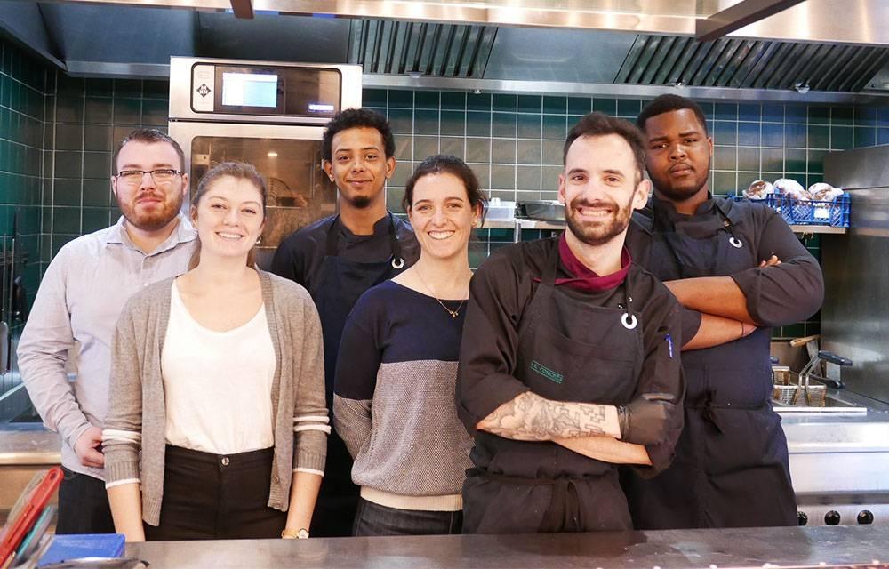 Notre équipe - Le congrès - Restaurant Rennes